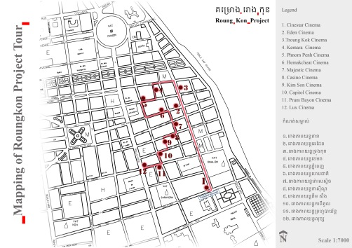 Mapping of RKP Tour